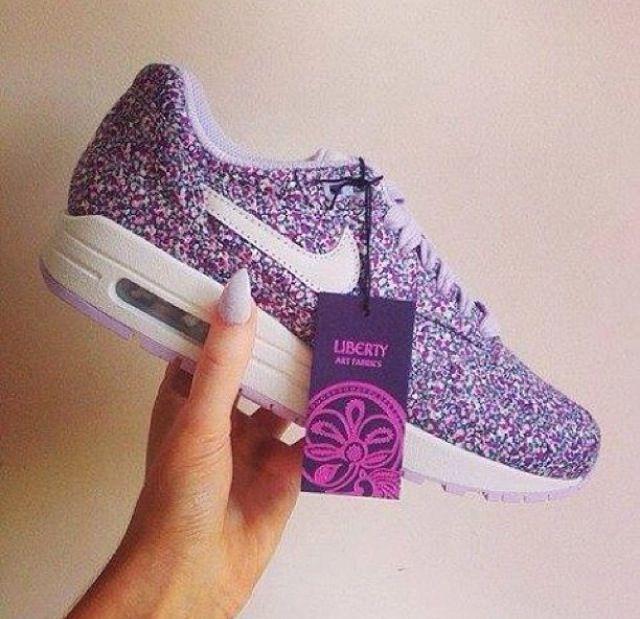 nike air max glitter - nike air max 1 pink purple
