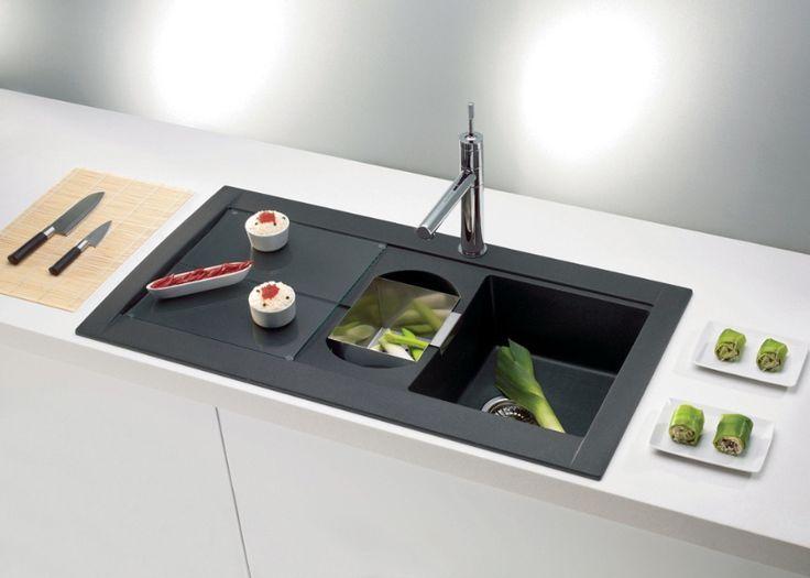 Küche Schwarz Spüle - Küchenmöbel Küchenmöbel Pinterest Black - www küchen quelle de