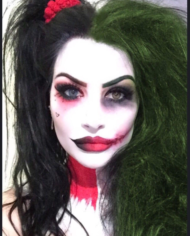 Harper Leigh As The Joker Makeup Is An Art Form Joker