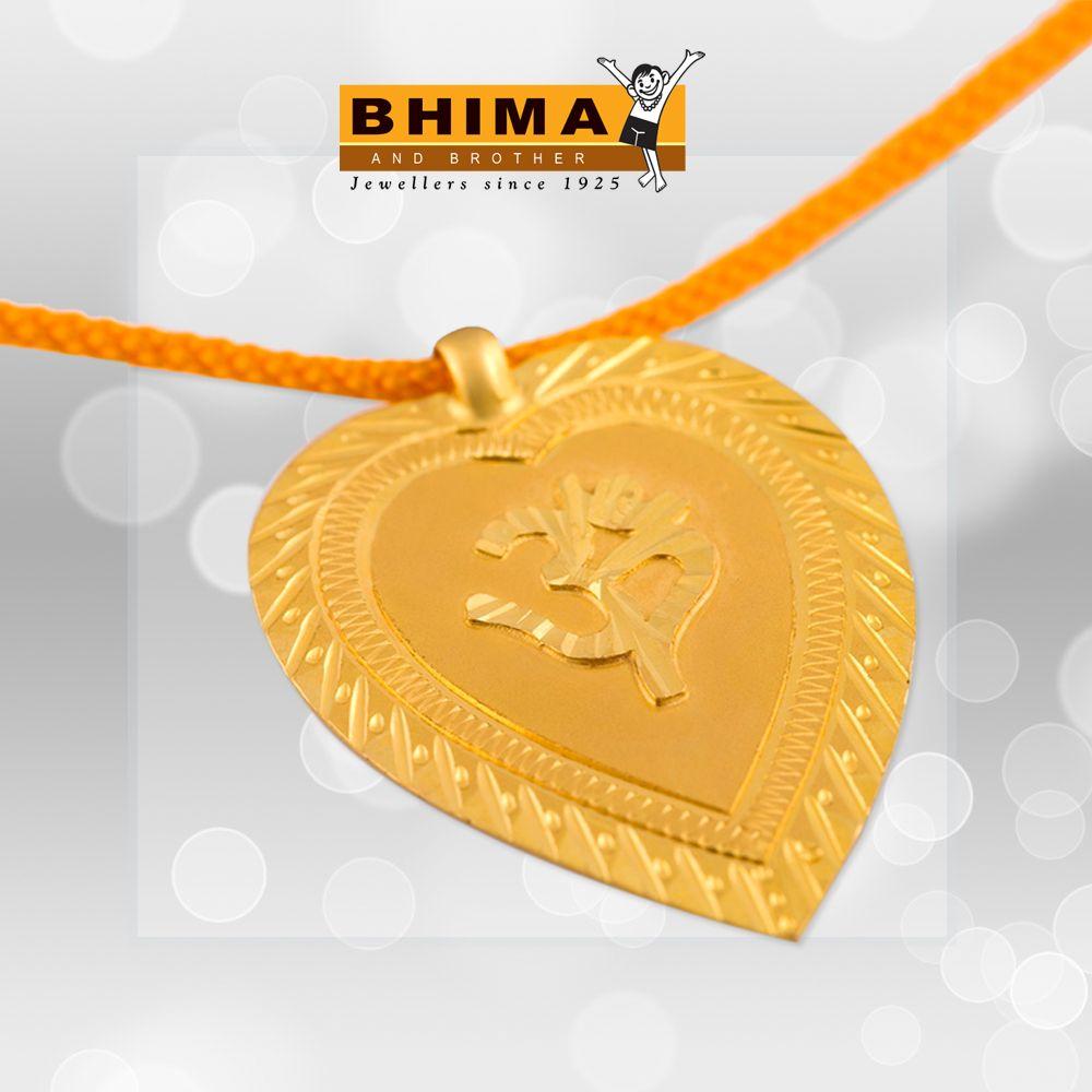 Bhima Jewellery Bands: Bhima Wedding Taali Kerala