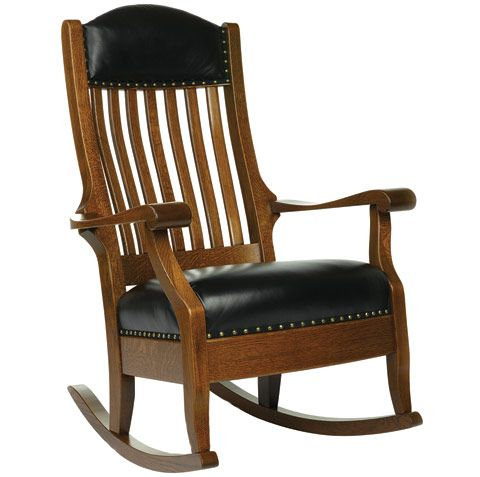 amish made rocking chair cushions high quality dining room chairs meriwether furniture by cabinfield solid wood rocker wooden