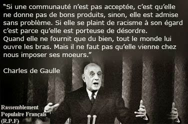 Assimilation Selon De Gaulle Citation De Gaulle Citations Ecrites Citation Motivation Reussite