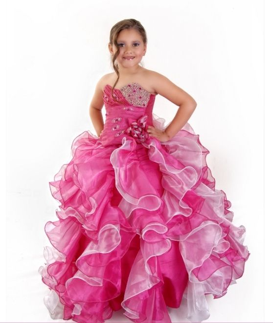10  images about girls dresses on Pinterest - Girls pageant ...