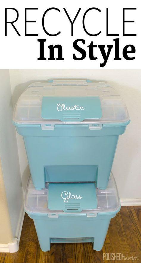 home organization center recycling bins 29 best ideas recycling storage recycling bins on kitchen organization recycling id=80161