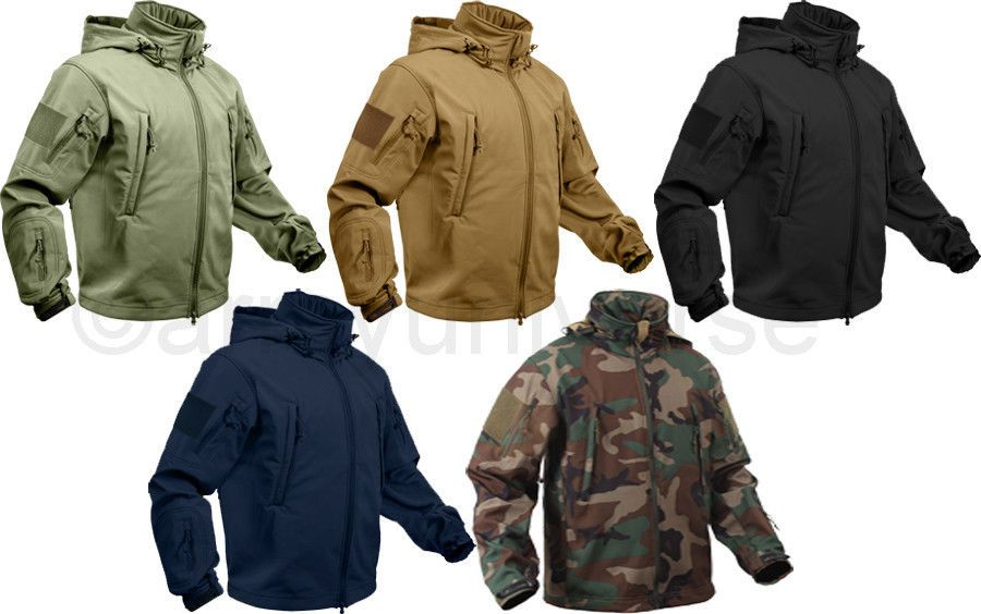 Army Universe Soft Shell Special OPS Military Jacket Heavy Duty Waterproof  Coat  MilitaryJacket  SoftShellCoat   RuggedJacket  Waterproof 642cf5572a0