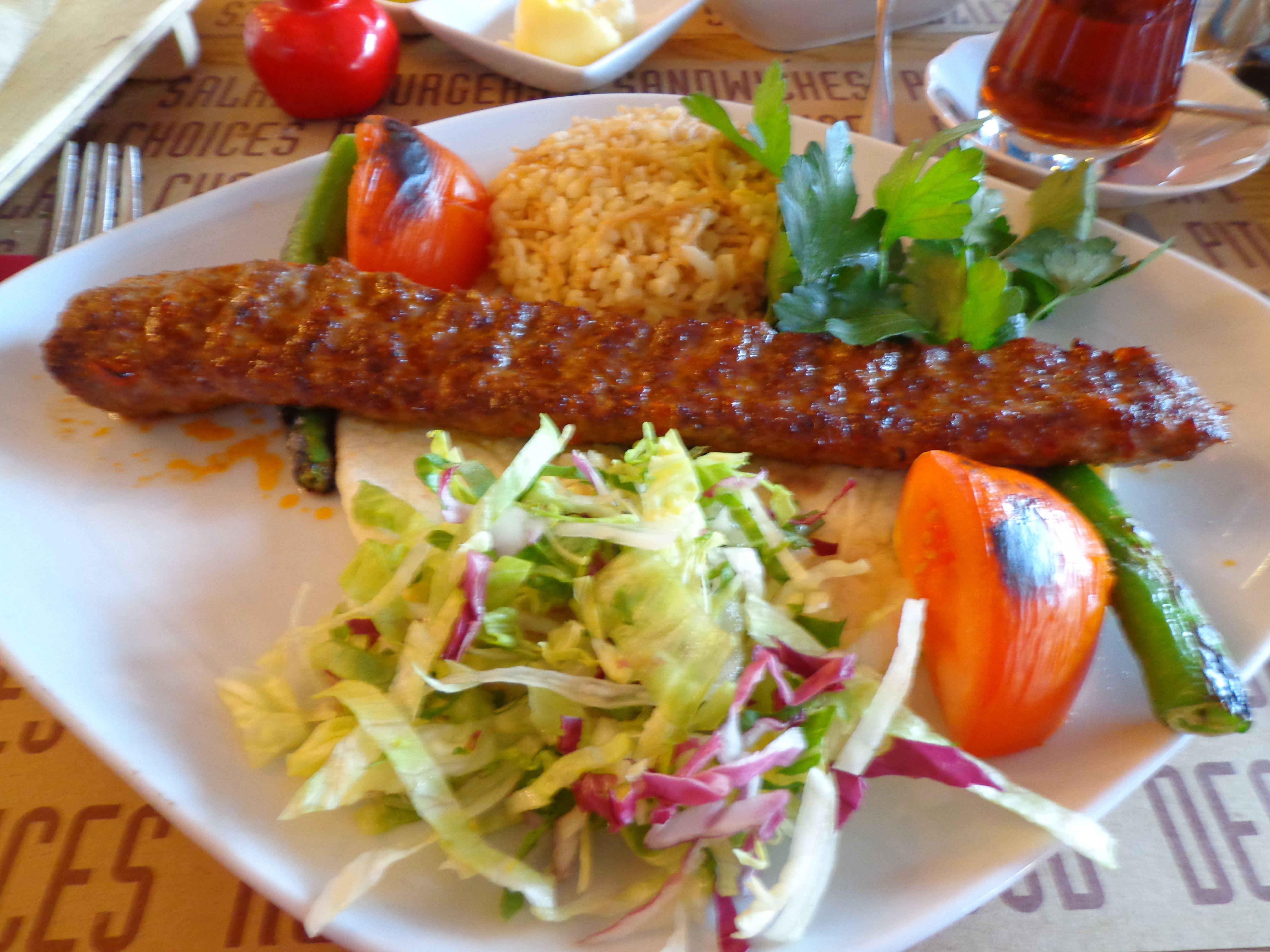 Adana Usulu Acisiz Kebap The So Called Kebap From Adana With