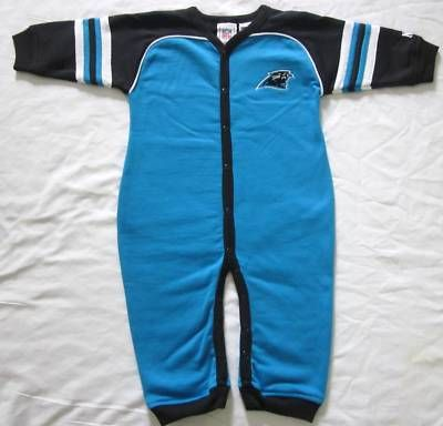 reputable site b78c2 f918a Carolina Panthers Baby Infant One Piece Outfit Coverall NWT ...