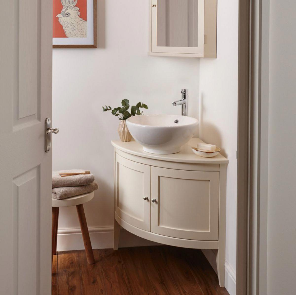 Imperial Westminster Victoria Corner Vessel Bowl Unit Bathroomsink Bathroom Furniture Corner Bathroom Vanity Small Bathroom