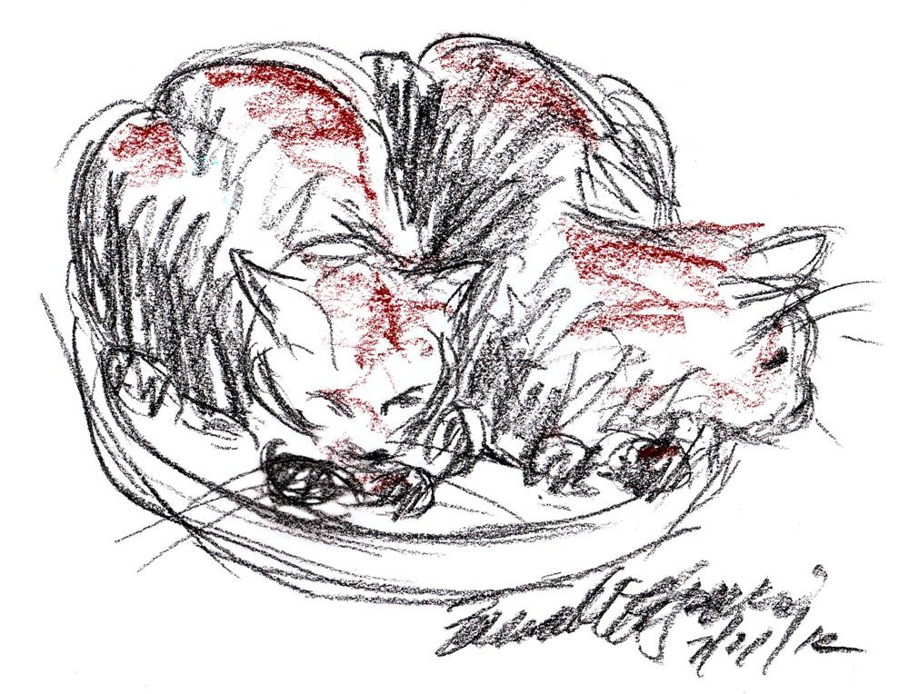 Daily Sketch Reprise: Loafing