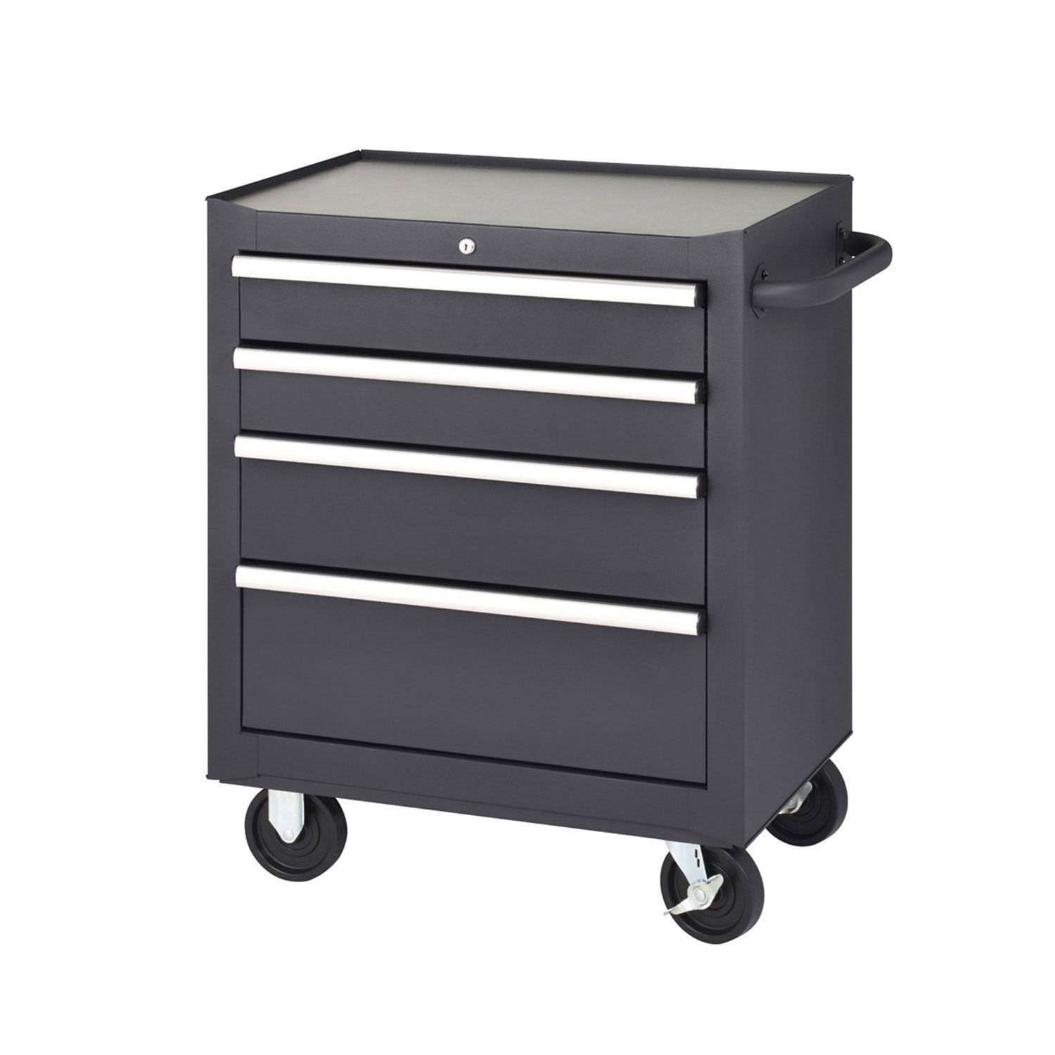 Four Drawer Rolling Tool Cabinet Tool Cabinet Storage Wheels