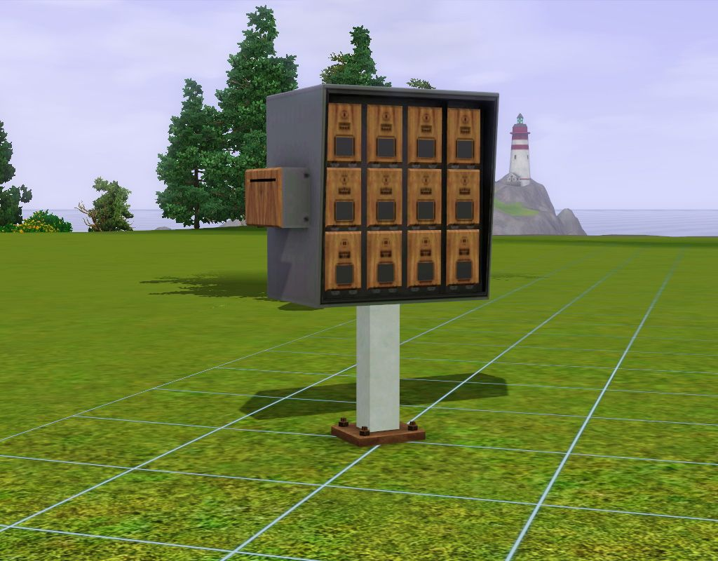 Mod The Sims - Apartment Mailbox | Sims 3 Downloads Objects ...