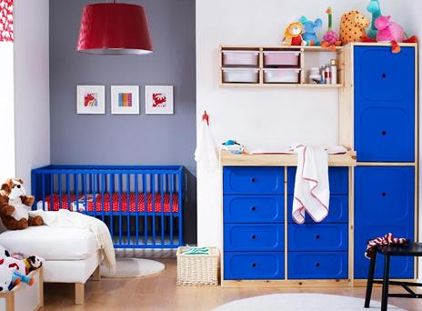 Quartos infantis Ikea