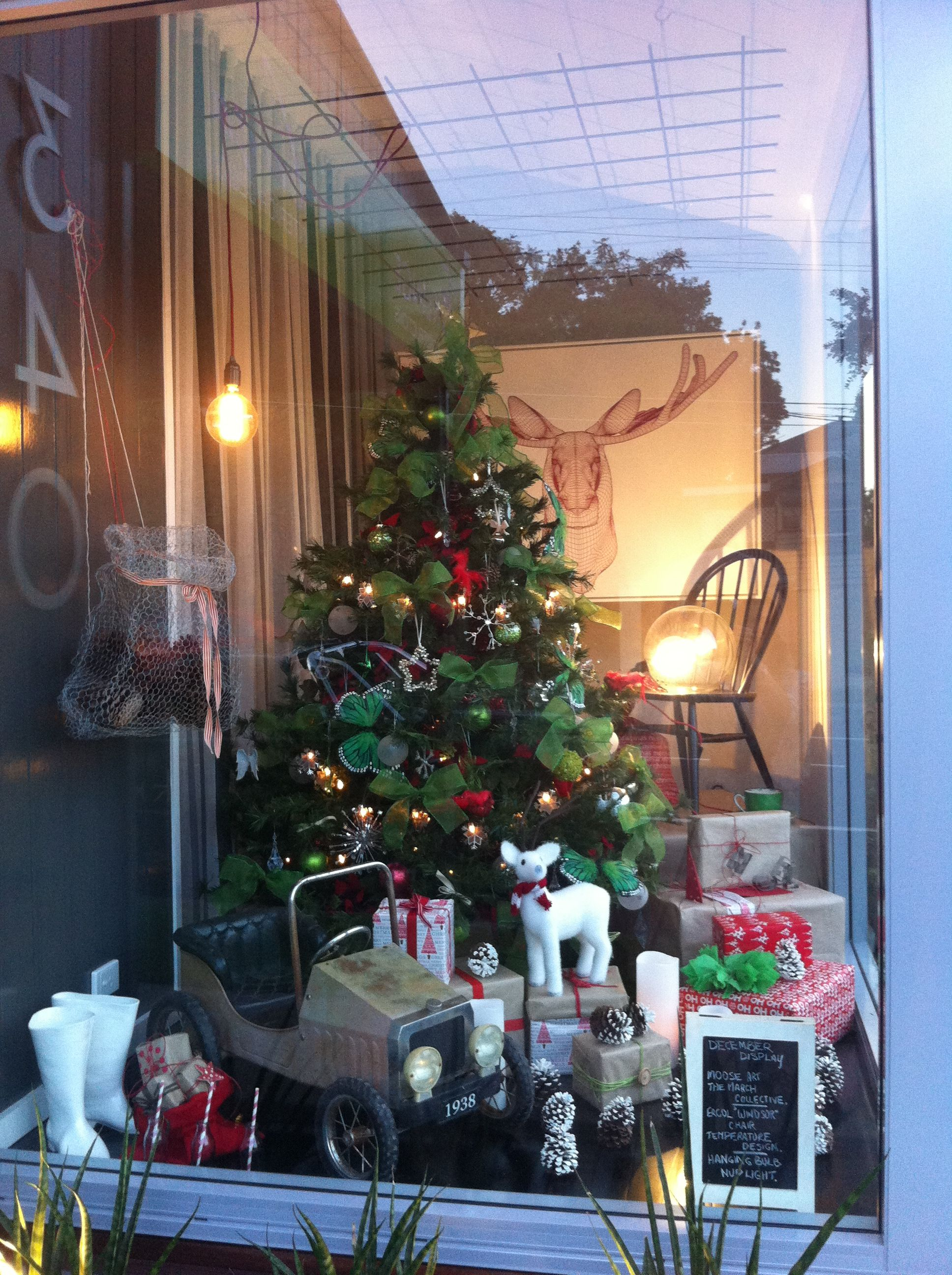 Good Freedom Furniture Christmas Tree Part - 9: Christmas Display Window At Luisa Interior Design And Klinge Constructions.  Products From The March Collective