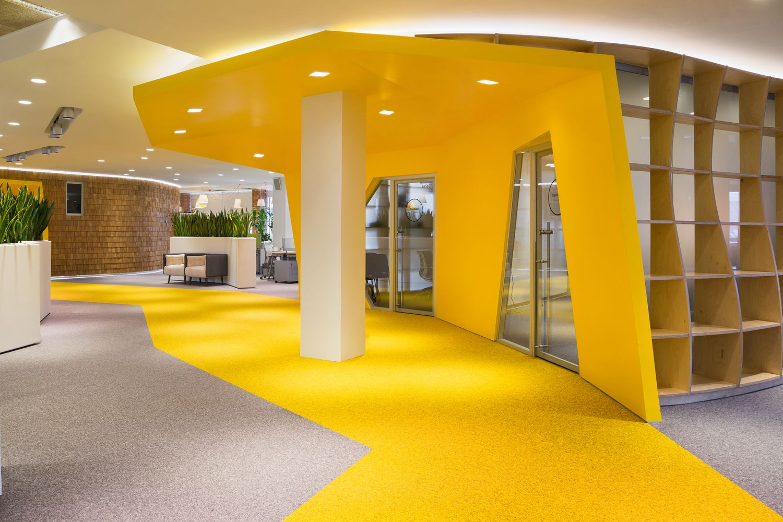 Galería - Segunda Etapa Sede Yandex / Atrium - 18