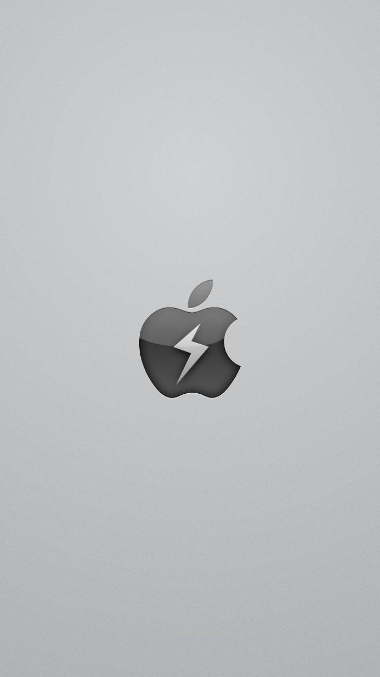 750x1334 wallpaper app storm, apple, mac, red, symbol | apple love