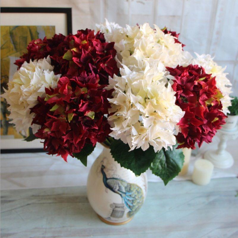 1 Bouquet European Silk Flower European Artificial Flowers Ball ...