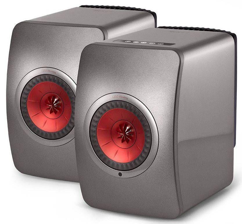 kef ls50 black edition speakers