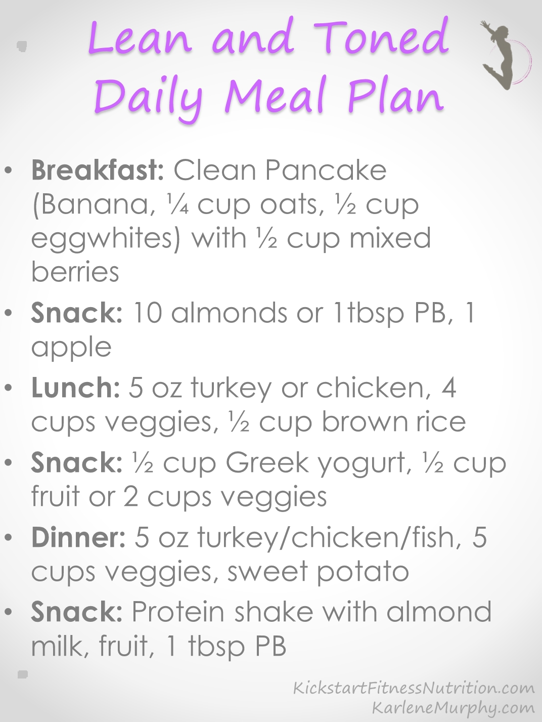 Clean Eating Daily Meal Plan Ok, I can do this!.. then I noticed the cRAzy amount of vegetables.. I can't 'fit' that much food/that many vegetables in me. I'll have to cut something out/down. #weightlossmotivation
