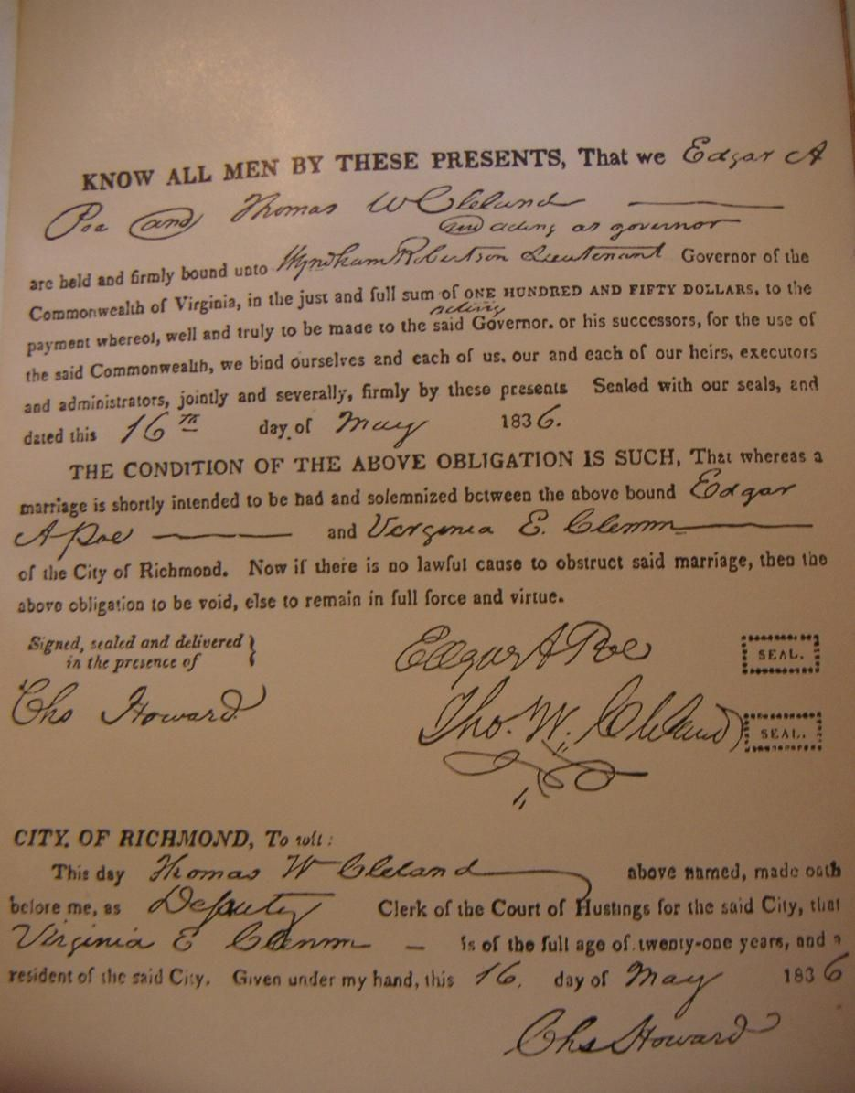 Edgar Virginias Wedding Certificate Poemarriageg 9351195
