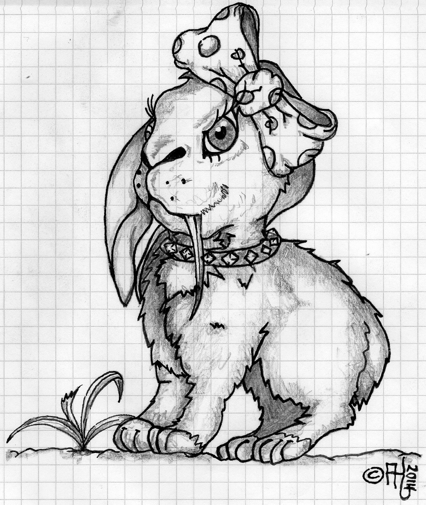#häschen #rabbit #drawing #ostern