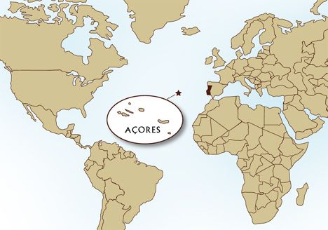 where are the azores on a world map   Google Search | Atlantic