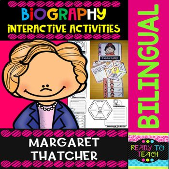 ENGLISH VERSIONYou will find a set of 4 different tasks to work on the biographies of Margaret Thatcher. There are 4 interactive activities to be done:Interactive Task 1: Students have to search facts about the biography of this famous person and write those facts related to his/her early and famil...