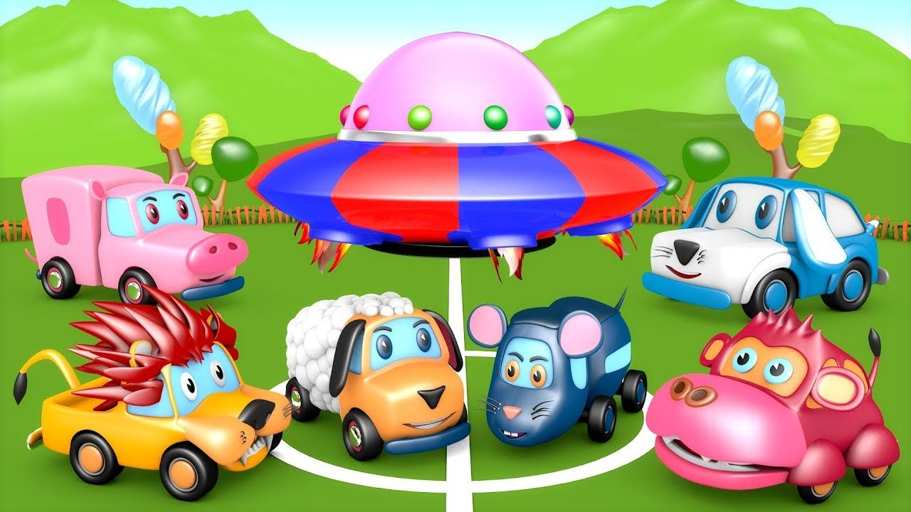 Zoo Zoo Animals Funny Soccer Ball Game Play - Alien Spaceships vs ...