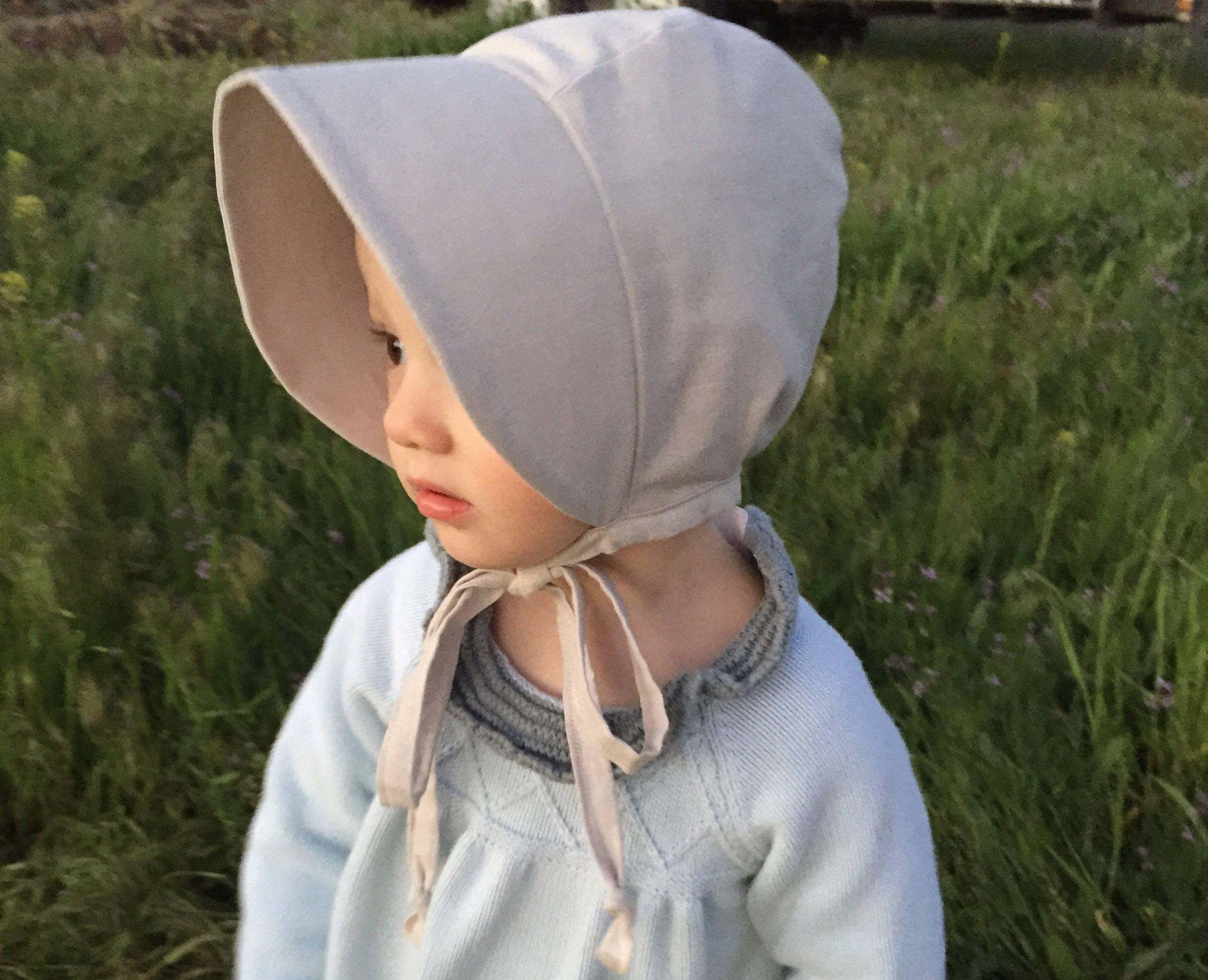 9-12 month bonnet baby bonnet Christmas bonnet spring bonnet cotton baby bonnet baby sun bonnet reversible bonnet sun bonnet