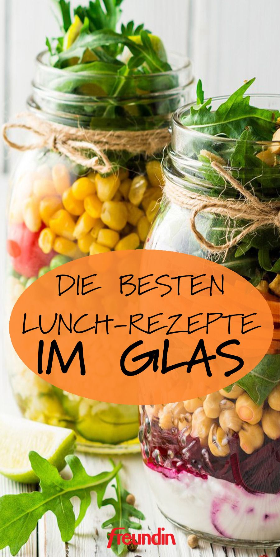 Photo of The best lunch recipes in a glass freundin.de