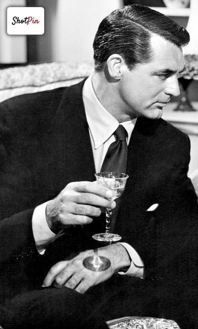 Cary Grant.what a role model for all men.too bad half of them don't know who he is.
