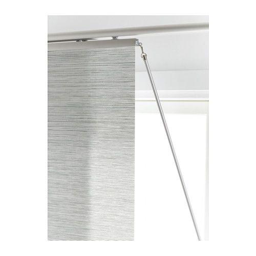 ikea kvartal barra tirador muy prctico para mover y colocar tus paneles japoneses