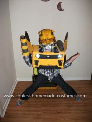 Coolest bumblebee transformer homemade costume pinterest homemade bumblebee transformer costume my son declans latest craze is transformers his favorite being bumble bee the homemade bumblebee transformer solutioingenieria Choice Image