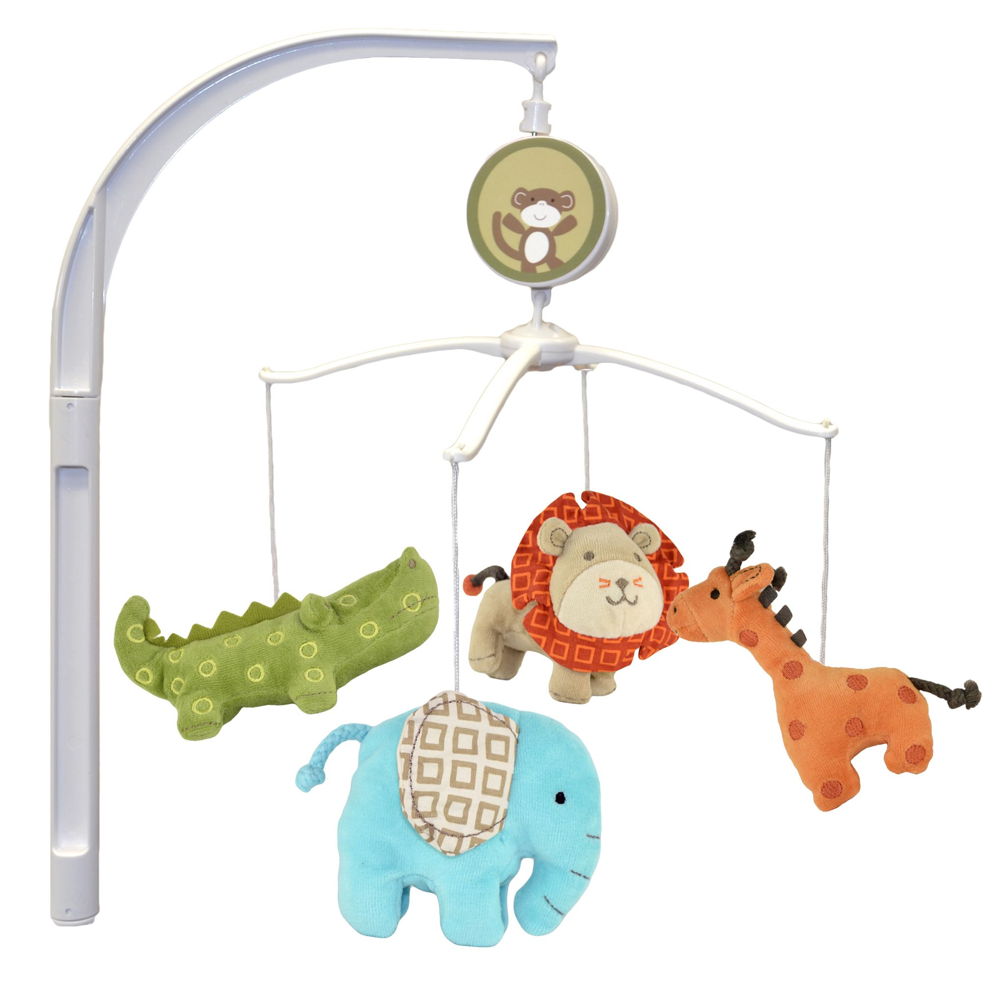 Cuddletime Jungle Jubilee Mobile Nursery