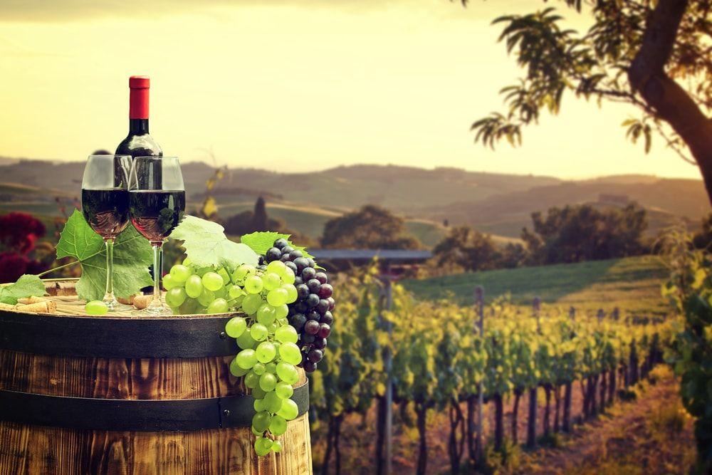 Toskánsko víno