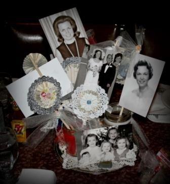 Table Settings I Did For My Mil 70th Birthday Party Crafty Rh Com Decoration Ideas Mom