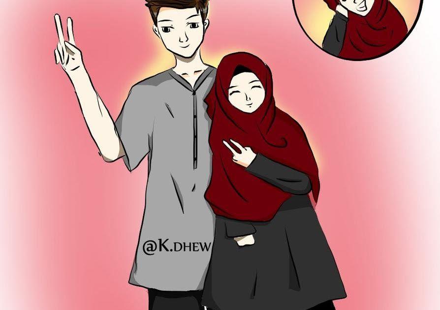Wow 30 Gambar Kartun Muslimah Berpasangan Terbaru Best Wallpaper Kartun Muslimah Berpasangan Bedebas Download 60 Gambar Animasi Gambar Kartun Kartun Gambar