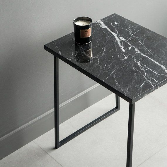 Genial Materials: Stone Top: Polished Marble (nero Marquina) Marble Edge: Polished  Top And Sides With The Edges 1mm Beveled At 45 Degrees Table Base: