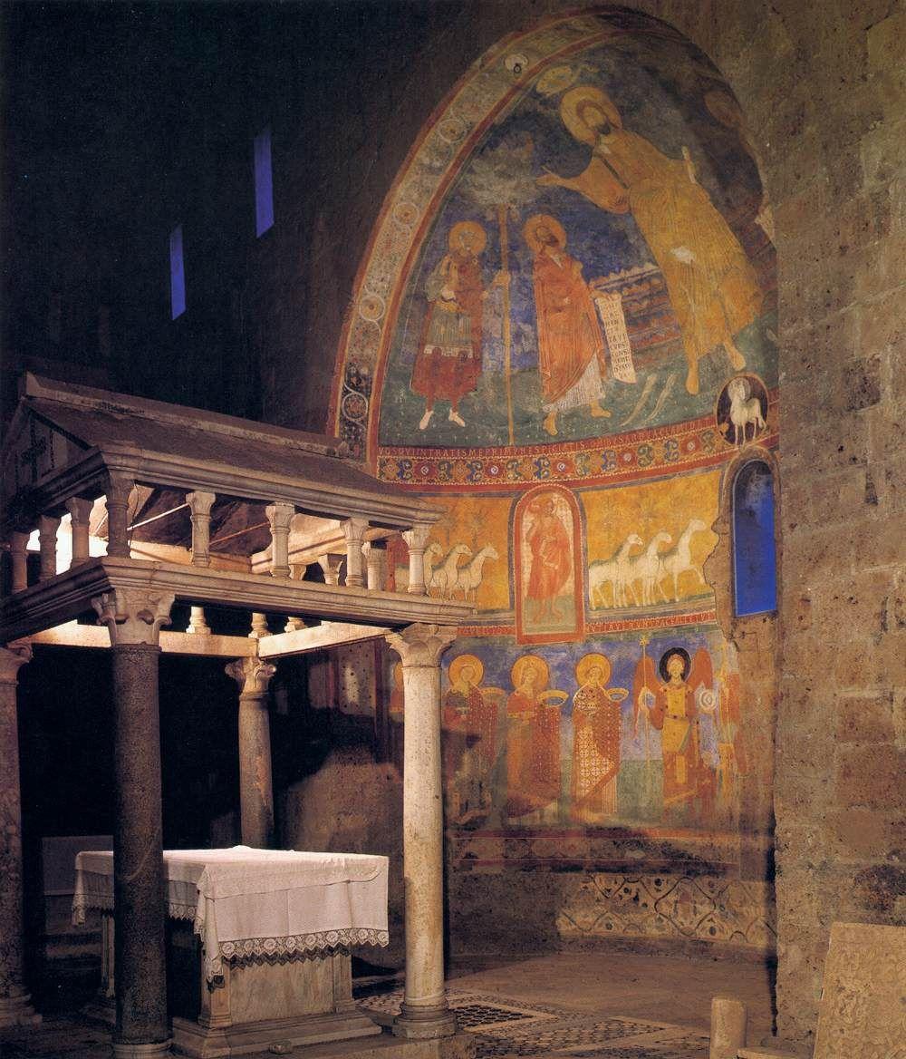 Castel Sant Elia Italia.Basilica Castel Sant Elia Di Nepi Italia Romanesque Art Romanesque Architecture Romanesque