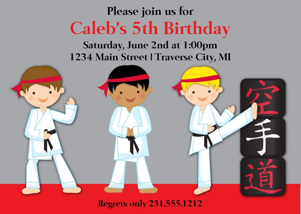 Awesome karate birthday invitations for kids download this awesome karate birthday invitations for kids download this invitation for free at http stopboris Images
