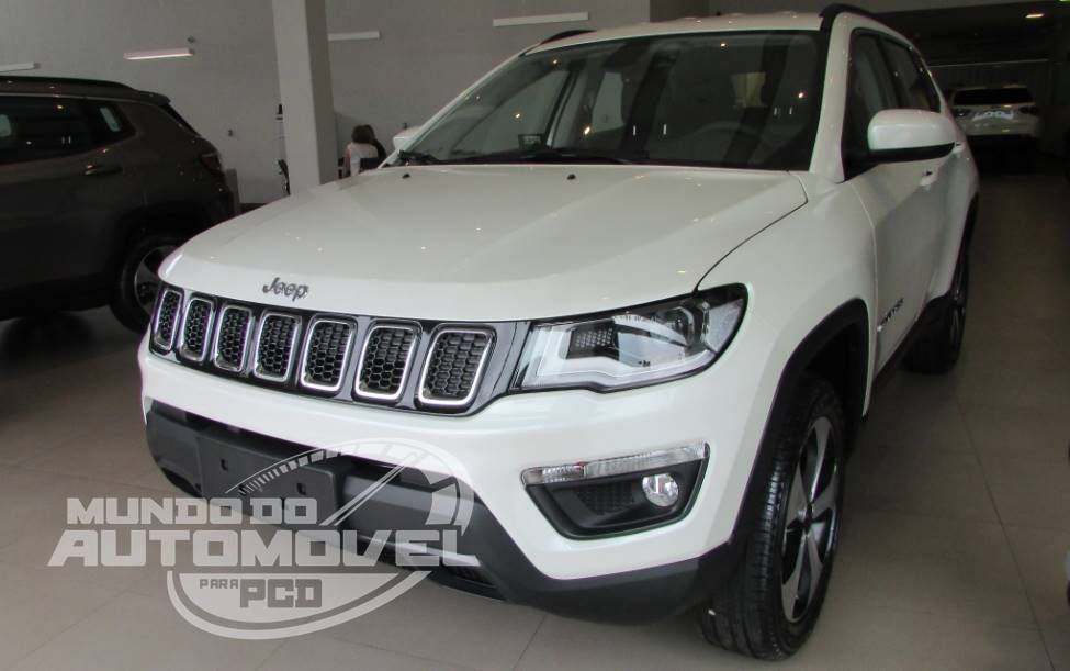 Jeep Compass 2 0 Longitude Diesel 4 4 Automatico Para Pcd Jeep Renegade Jeep Automotivo