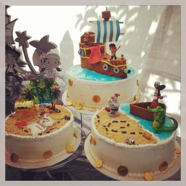 Disney Jake and the Neverlands Pirates Cake My Cake Creations