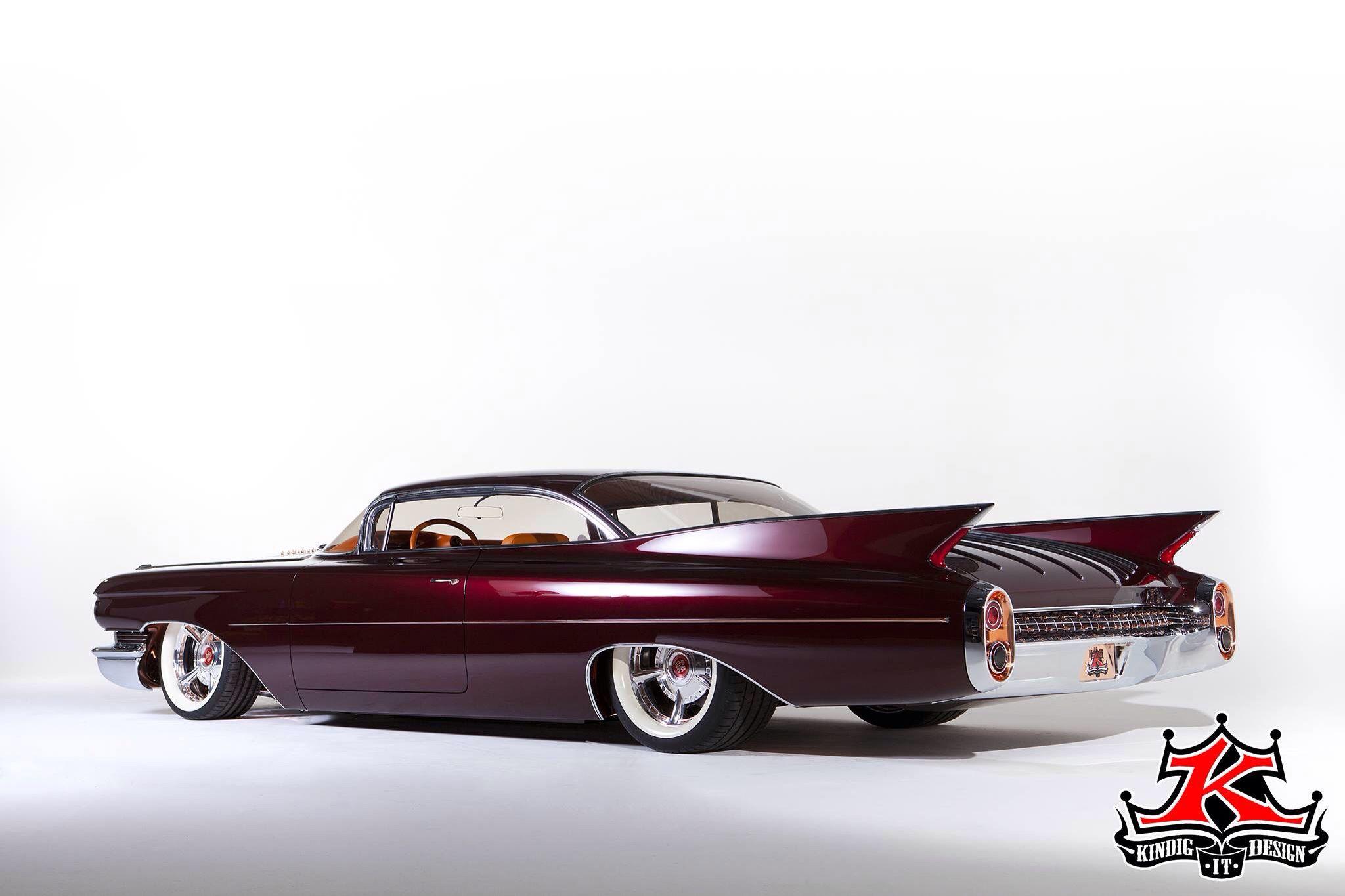 "Kindig Designs Cadillac ""HOT CADDY SLEDS"" Pinterest"