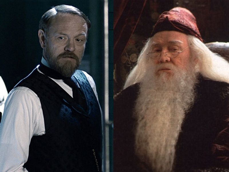 Richard Harris Son To Play Young Dumbledore Richard Harris Richard Harris Actor Dumbledore