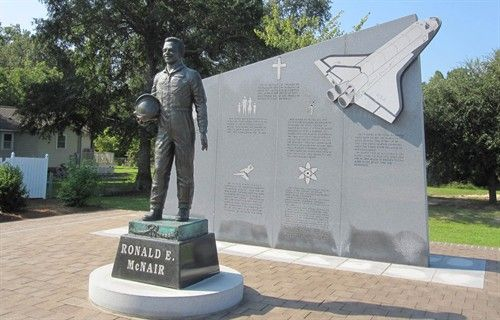 The late NASA Astronaut Ronald E. McNair was a Lake City native. A memorial stands in his honor on Lake City's East Main Street.