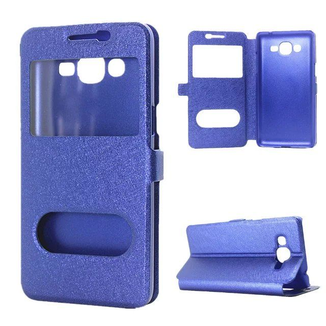 For Samsung Galaxy J2 Prime Case Flip Leather Pc Hard Case Luxury View Window Cover For Galaxy J2 Prime G532f Leather Case Hc11