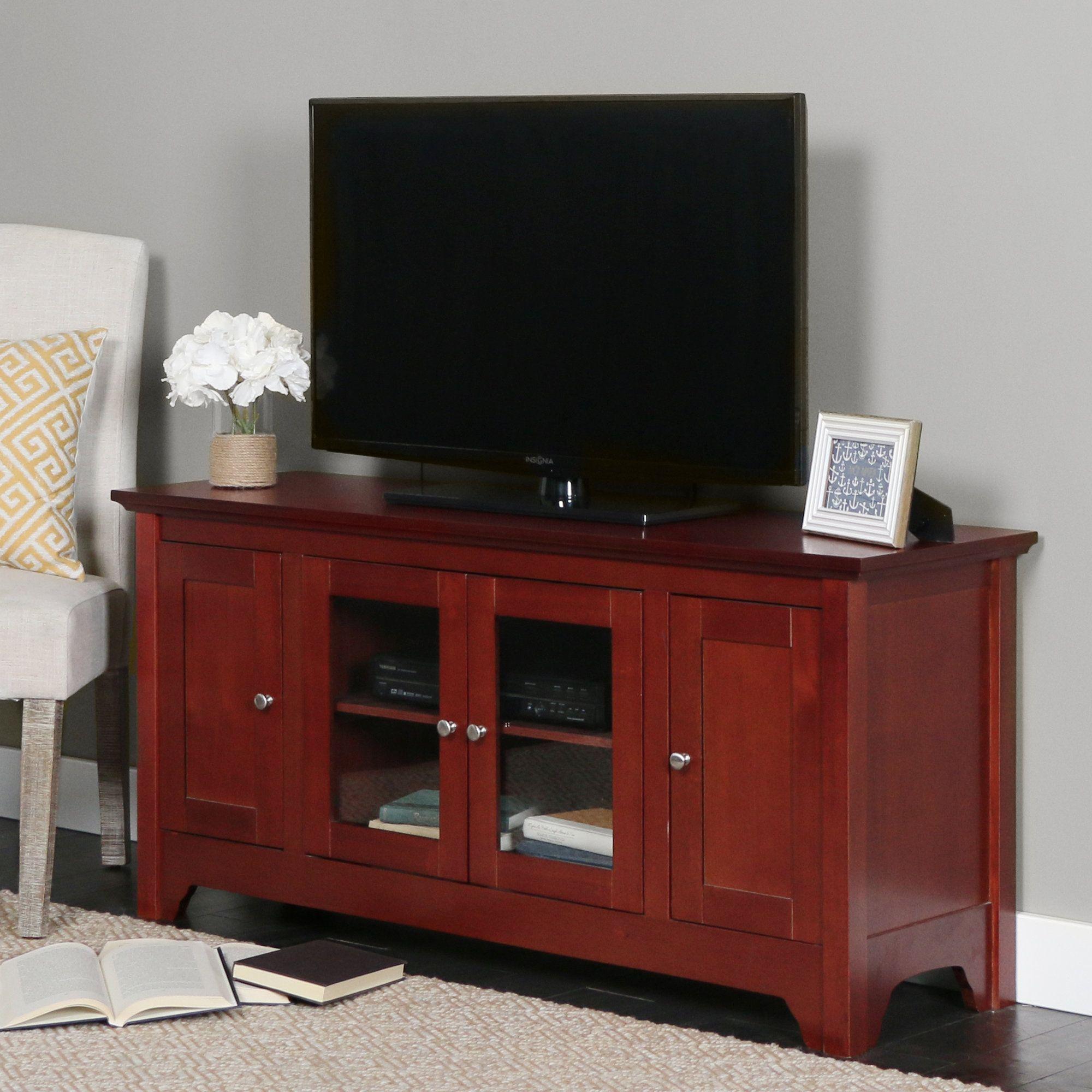 Crosley Black Alexandria 42 Tv Stand Entertainment Center Low Profile Tv Stand Crosley Furniture