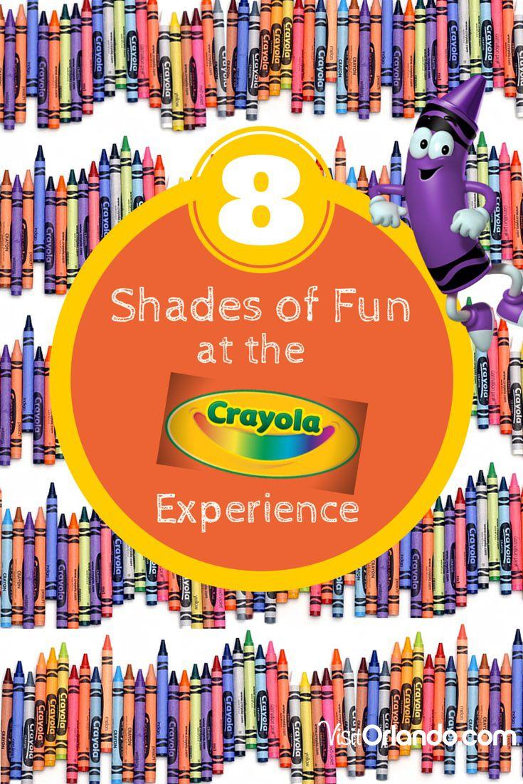 8 Shades of Fun Not to Miss at the New Crayola Experience Orlando! #Orlando #vacation #Crayola #travel