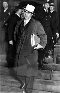 Al Capone was convicted on Tax Evasion charges, and spent 11 years in Prison; the latter years on Alcatraz.