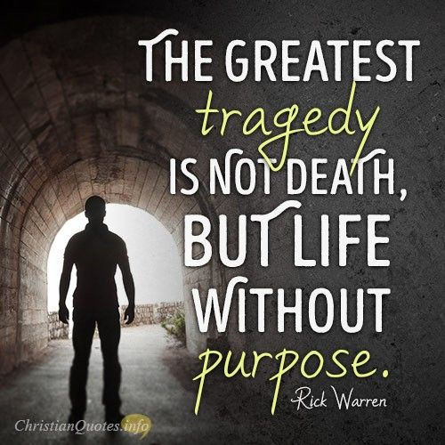 Daily Death Quotes: 3 Things Worse Than Death: Rick Warren