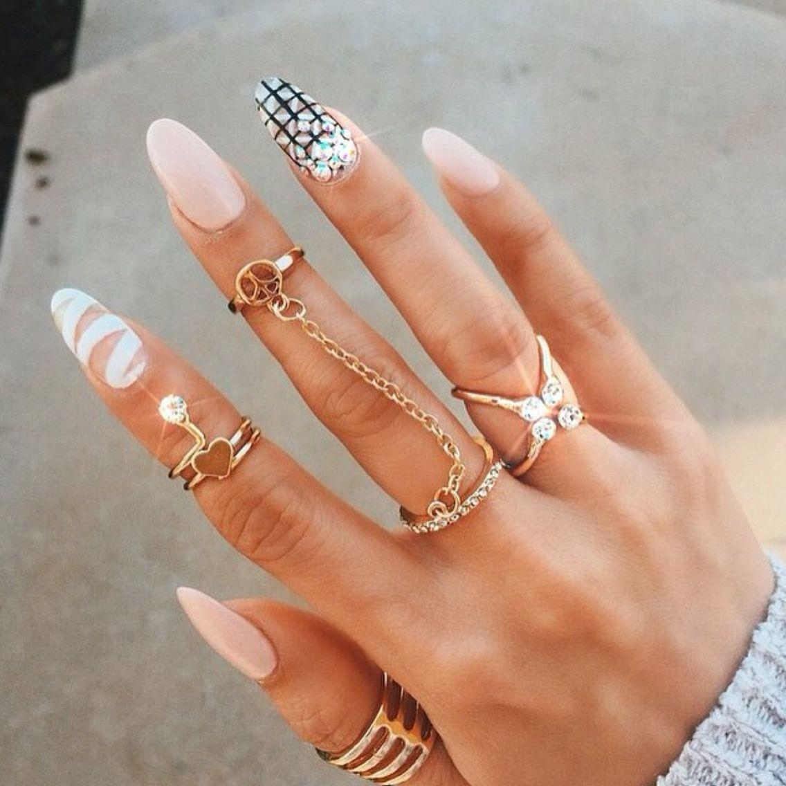 Pinterest: taybeesy ➰   Nails   Pinterest   Manicure, Nail nail and ...